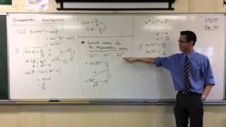 Exact Values for Trigonometric Ratios