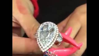 Cardi B Shows Off her 500k Ring