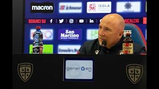 Cagliari-Roma, la conferenza stampa pre-gara