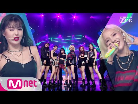 [(G)I-DLE - Uh-Oh] KPOP TV Show | M COUNTDOWN 190718 EP.628