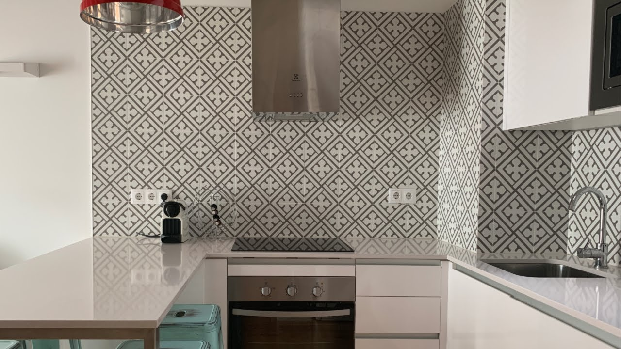 Backsplash With Fusion Mineral Paint