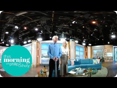 Holly and Phillip's 360° Video Tour of the New Studio | This Morning
