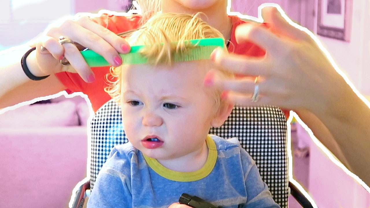 Babys First Haircut Youtube