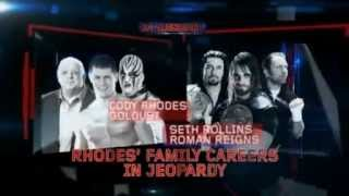 Cody Rhodes and Goldust vs Seth Rollins and Roman Reigns Battleground Promo