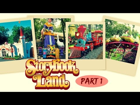 STORYBOOK LAND Family FUN Time || Egg Harbor Township, New Jersey (Part 1)