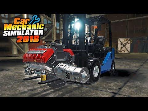 TWIN TURBO FORKLIFT - Car Mechanic Simulator 2018