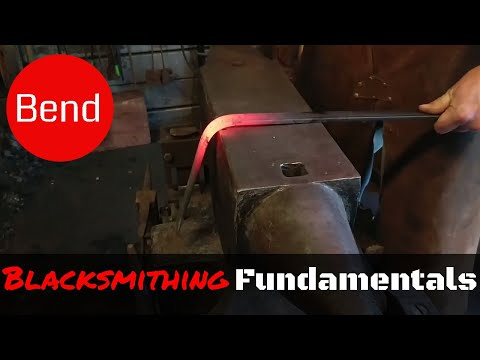 How to Bend Metal // The Blacksmithing Fundamentals You Need to Know