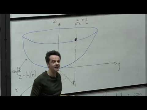 Oxford Mathematics 1st Year Student Lecture: James Sparks - Dynamics