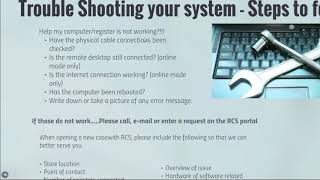 Join the rcs team as we discuss basic ncr counterpoint trouble shooting tactics. will also talk about calendar year changes, offline ticket entry builds a...