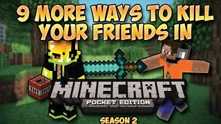9 More Ways To Kill Your Friends in Minecraft PE (Season 2)
