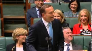 Toilet humour: Tony Abbott says Bill Shorten has 'Irritable Bill Syndrome'
