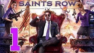 Let´s Play Saints Row 4 Gameplay Deutsch - Part 1 - Charakter Erstellung