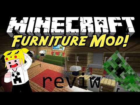 REVIEW DEL MOD FURNITURE MINECRAFT- Felix Gamer