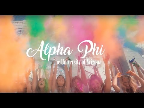 University of Arizona Alpha Phi Recruitment Video 2017