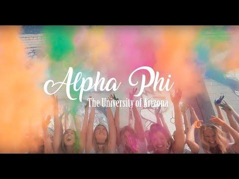 University of Arizona Alpha Phi Recruitment Video 2017