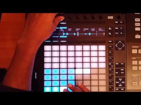 """Ableton Push 2 Beat ..""""The Ghost"""""""