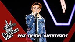 Justin – 'Lovely' | Blind Auditions | The Voice Kids | VTM