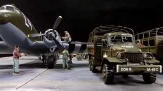 D DAY Minus One General Eisenhower visits some of his Airborne Forces