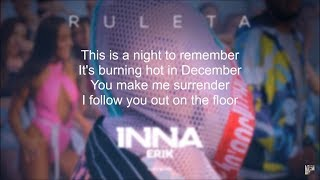 INNA - Ruleta (feat. Erik) Lyric Video (Lyrics on Screen)