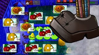 Best strategy Plants vs Zombies | Keep Opening adventure Roof Level 9 vs Lily Pad