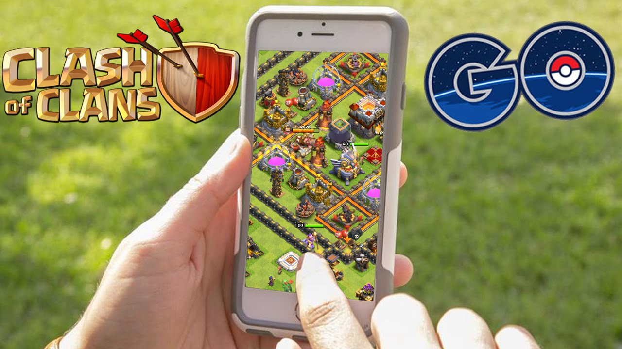 Bien-aimé CLASH OF CLANS GO - CoC meets Pokemon Go?! [Deutsch/German HD+]  GA56