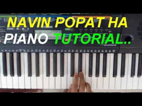 Piano Notes To Play - Navin Popat ha - marathi song - novation!structured!settlements