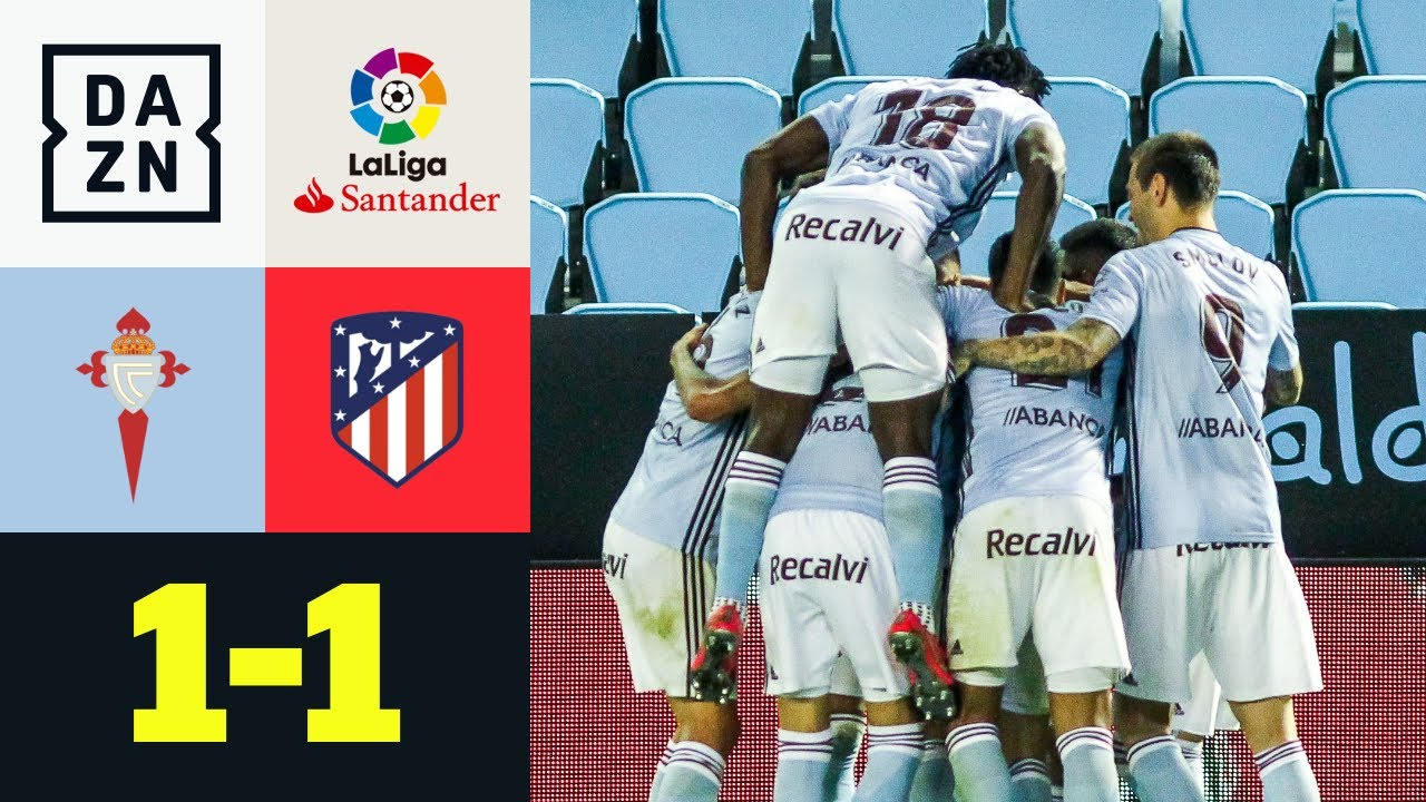 All'Atletico non basta Morata: Celta Vigo-Atletico Madrid 1-1 | LaLiga | DAZN Highlights