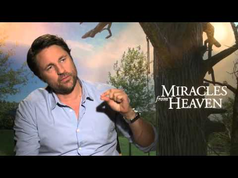 Martin Henderson talks about MIRACLES FROM HEAVEN
