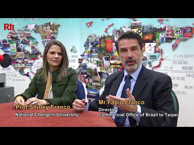 Interview with Mr.Fabio Franco and Prof.Shirley Franco【央廣英語】