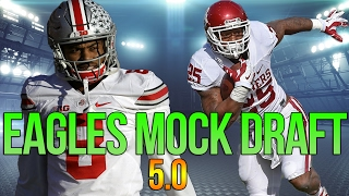 Give Mixon A Chance! | Full 7 Round Philadelphia Eagles Mock Draft | Mock Draft 5.0 Free HD Video