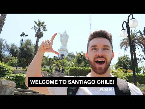Welcome to Santiago Chile! - Vlog 94