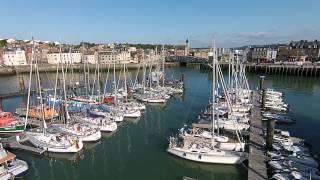 van Dieppe naar Saint Valéry en Caux
