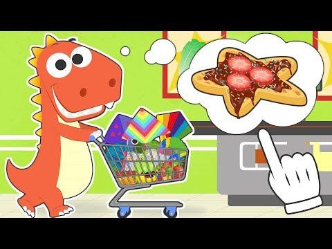 Aprende con Eddie a hacer la compra en el supermercado para cocinar 🛒