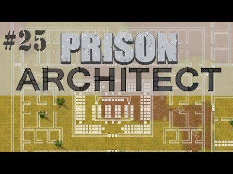 Prison Architect Gameplay #25 | Completando a capacidade máx