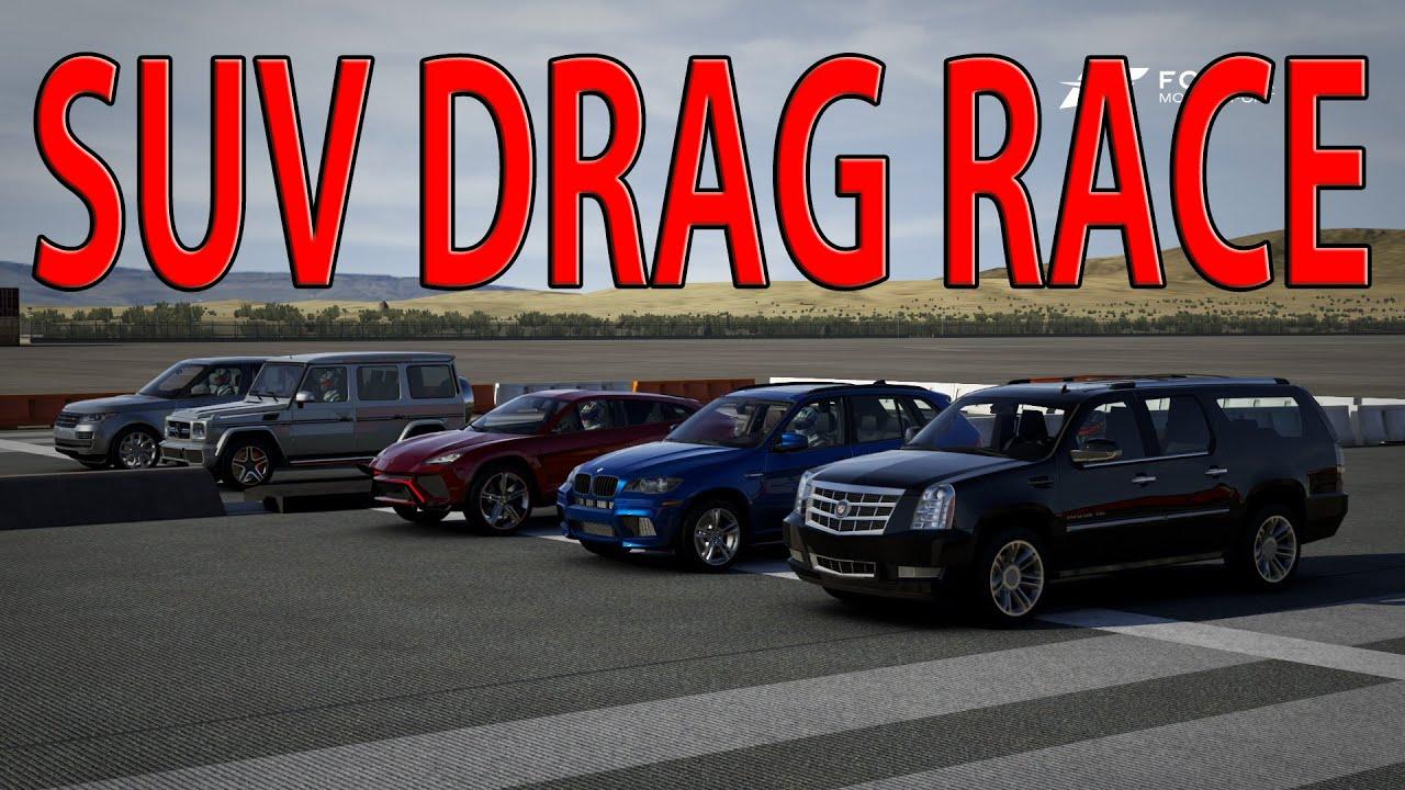 Forza Motorsport Drag Race Suv S M Amg Range
