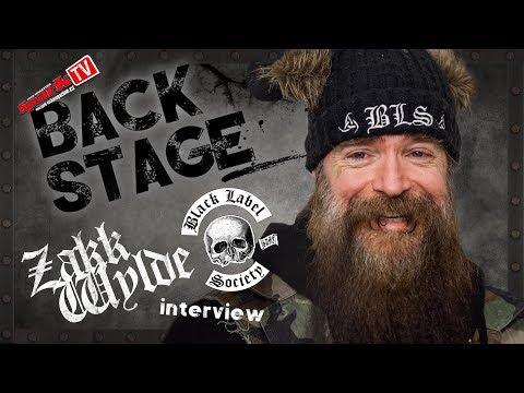 ZAKK WYLDE - interview before show in Prague (2018)