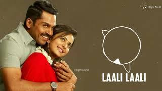 Laali Laali bgm ringtone   Karthi   BGM WORLD