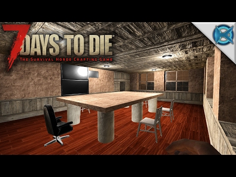 7 Days to Die - The War Room - Let's Play 7 Days to Die Gameplay Alpha 15 - S15E68 - 동영상