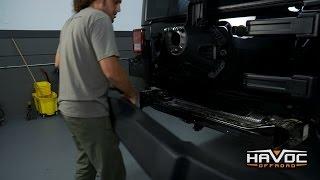 How to Remove Stock Jeep JK Rear Bumper - HavocOffroad.com