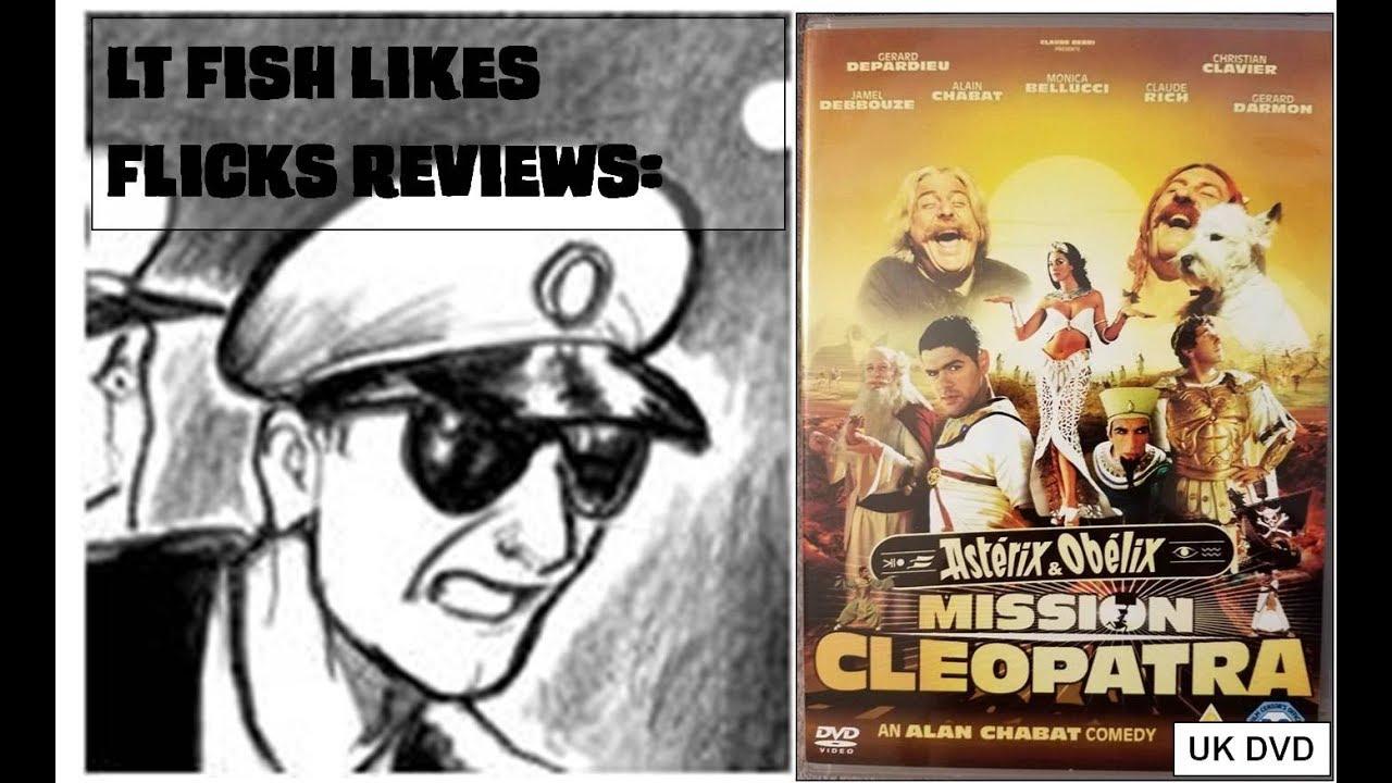 lt fish likes flicks asterix and obelix mission cleopatra uk dvd