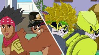 Tom and Jerry Bizarre Adventure - DIOM VS JERTARO - Jojo 2020