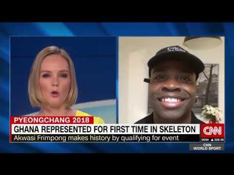 Akwasi Frimpong writes Olympic History for Ghana - CNN INTERNATIONAL
