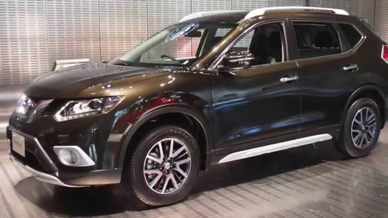 Nissan New X Trail In Ginaza Showroom Japan Youtube