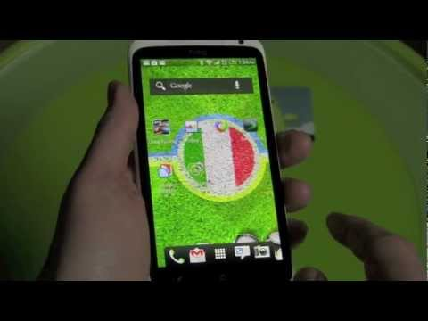 Adidas EURO 2012 Live Wallpaper For Android!