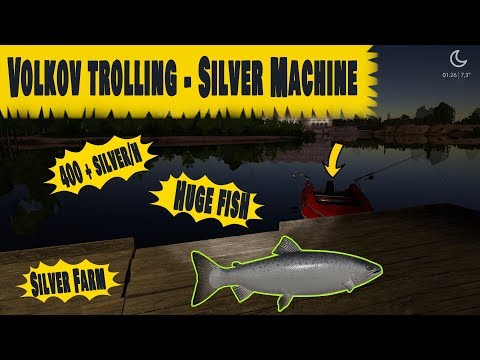 Volkov Money Machine - Gameplay [Russian Fishing 4]