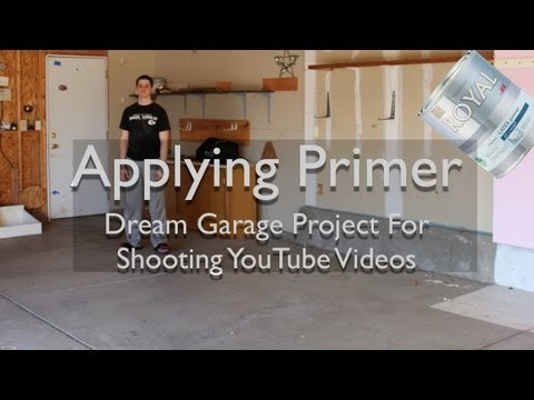 Dream Garage Project – Priming The Garage For Shooting Videos