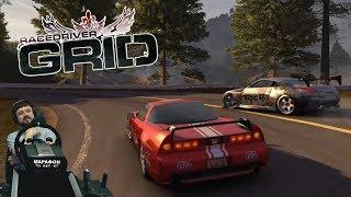 Эпическое противостоние 1 на 1 Honda NSX-R vs Nissan 350Z Тогэ Про в Race Driver: GRID