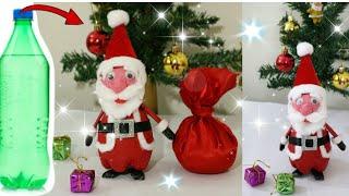 How to make  Santa Claus at home/DIY Christmas Room Decor Ideas/ Newspaper Craft Ideas/Santa Making