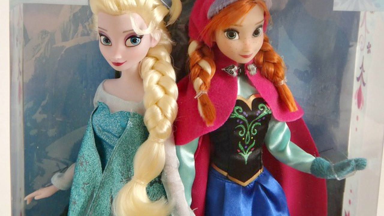 DISNEY S FROZEN ELSA AND ANNA DOLLS
