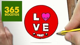 Video Como Dibujar Circulo Love Kawaii Paso A Paso Dibujos Kawaii